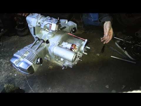 новый двигатель Урал 750 .2013г