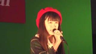 歌姫ライヴ Xmas Special での西川怜伽さんです。ORC200オーク広場 2015...