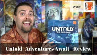 Untold : Adventure Awaits - Board Game Review /w Story Cubes