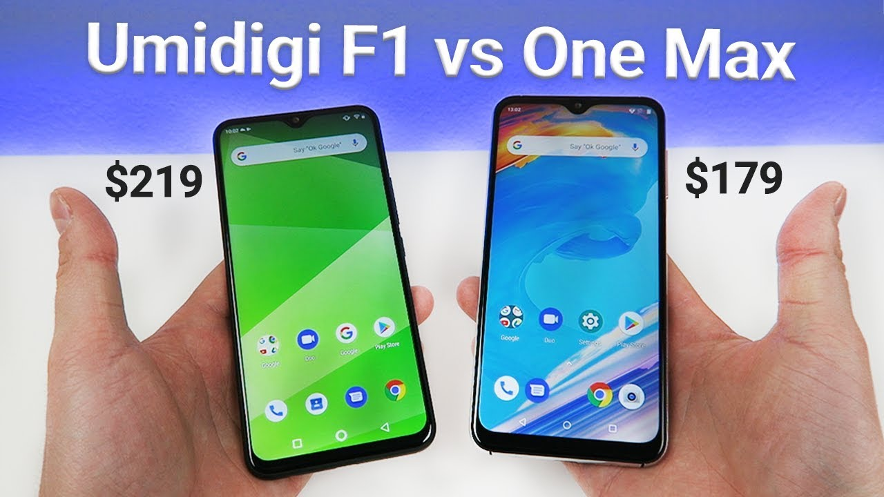 Umidigi F1 vs Umidigi One Max - Which is Better?