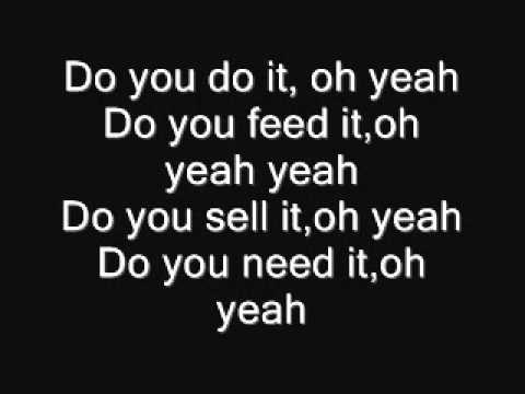 The Distillers - The Galow Is God Lyrics