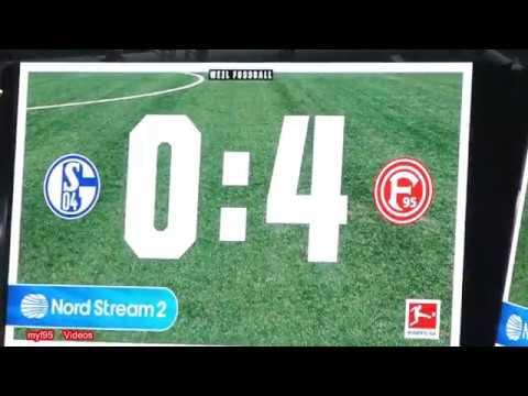 Fortuna zerlegt S 0:4 Matchday | Schalke 04 – Fortuna Düsseldorf | 02.03.2019  F95