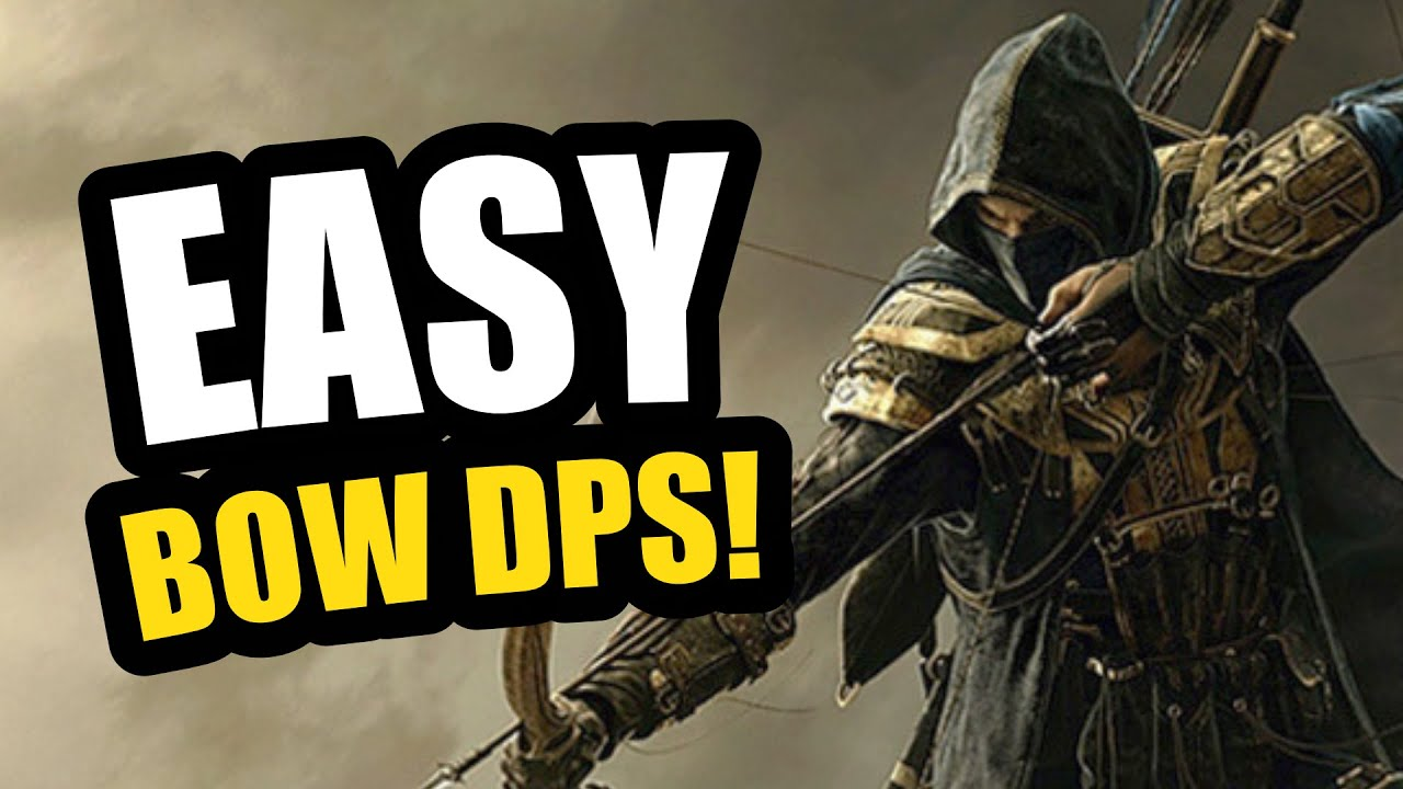 The EASIEST BOW DPS? 🏹 Stamina Nightblade Bow / Bow DPS Build - TOXIC RAIDER - ESO Blackwood Update