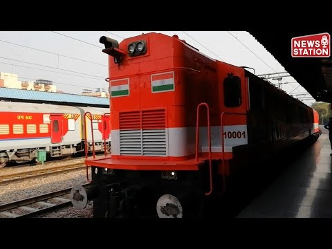 Indian Railways first time converts locomotive from diesel to electric traction of 10,000 horsepower