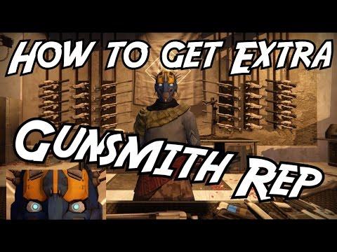 Destiny Taken King // How To Get Extra Gunsmith Rep!