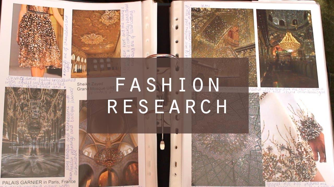 Fashion Design Research File | Initial Ideas, Colour & More (1st ...