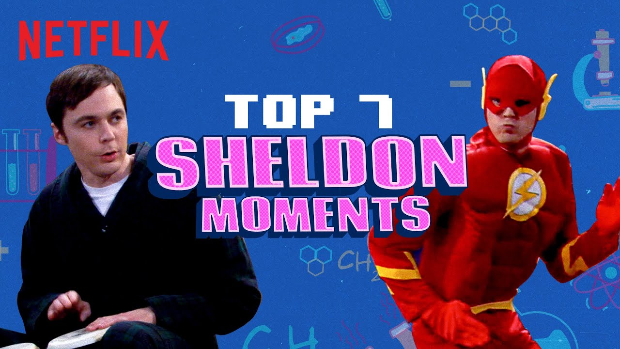 Download Top 7 Sheldon Cooper Moments | Jim Parsons | The Big Bang Theory | Netflix India
