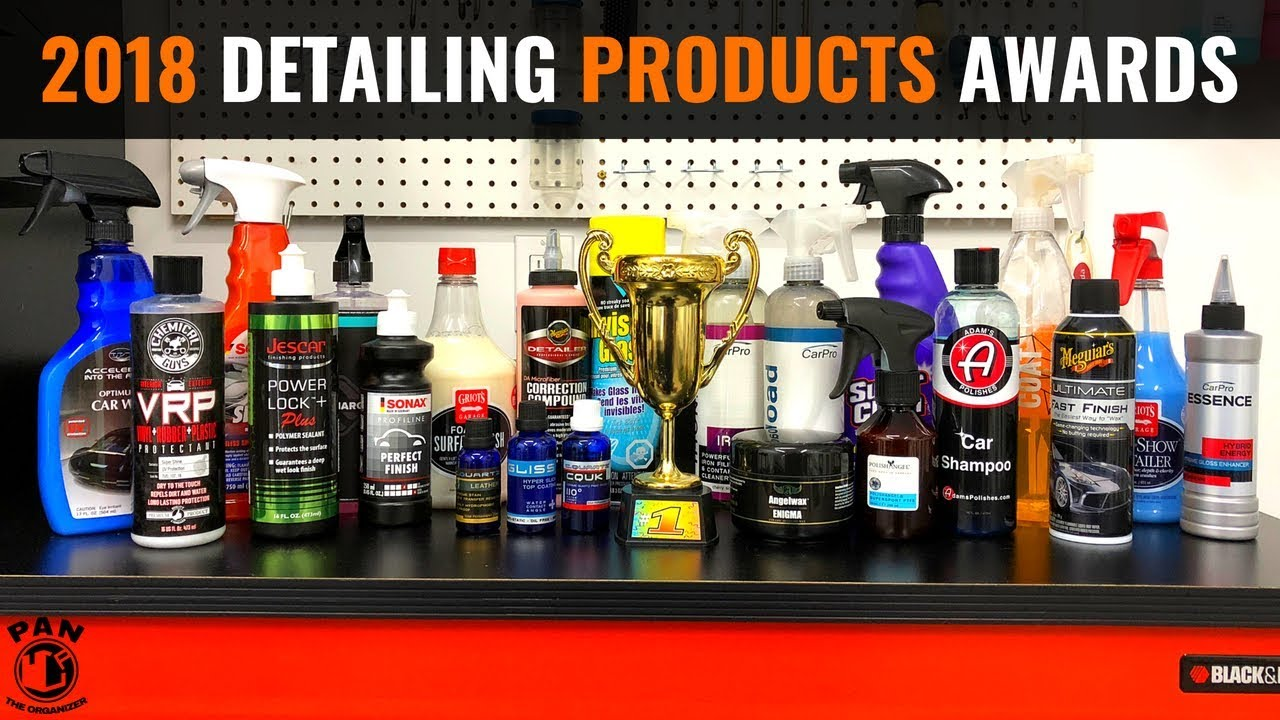 Professional Car Detailing Supplies >> 2018 Car Detailing Products Awards Youtube