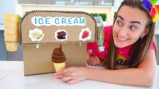 Vlad et Niki Ice Cream & Melon d'eau Défi pour maman