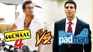 Ajay Devgn's Golmaal 4 To CLASH With Akshay Kumar's Padman