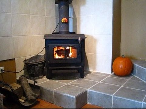 Installing A Wood Stove In A Brick Chimney Part 2