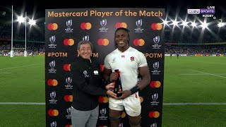 Player-of-the-match Maro Itoje gives his thoughts on England's massive win | RWC 2019 Moments