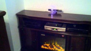 TV OVER THE FIRE PLACE