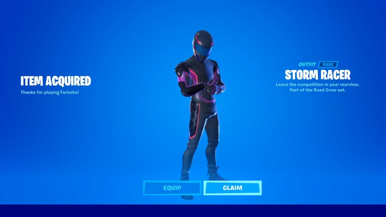 how to get road crew set now free in fortnite unlock storm racer skin free pitstop skin youtube how to get road crew set now free in fortnite unlock storm racer skin free pitstop skin