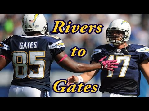 Rivers to Gates || Philip Rivers and Antonio Gates Highlights