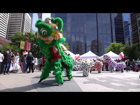 Jing Wo at Cultural Centre Lion Dance Calgary 2014