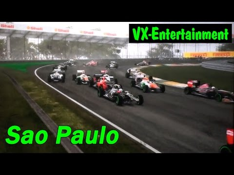 Sao Paulo F1 2012 Game Crash 4