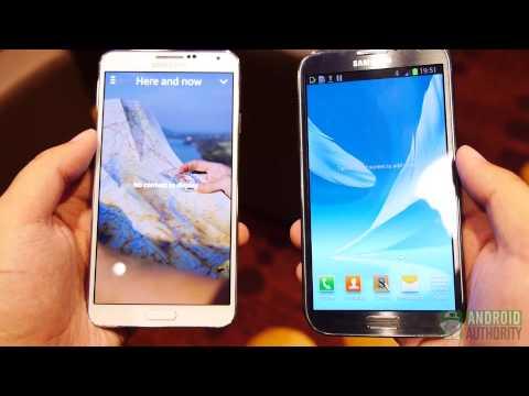Samsung Galaxy Note 3 vs Note 2: Quick Look
