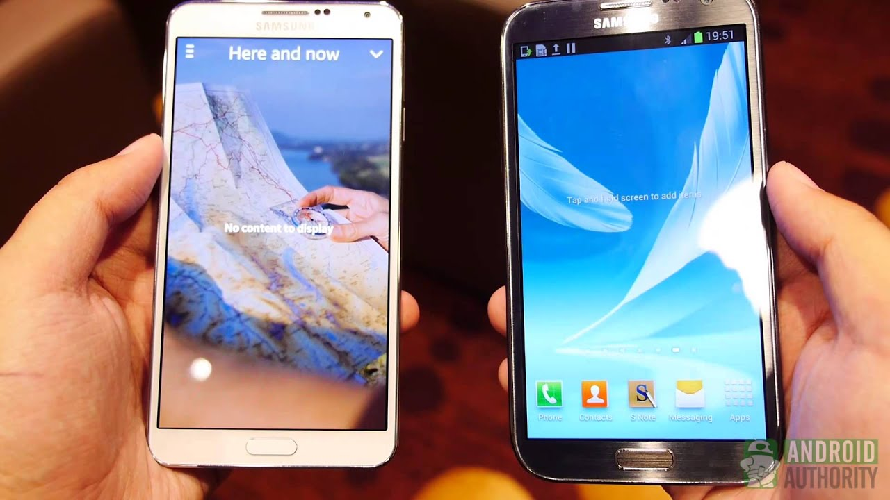 Samsung galaxy note 3 vs note 2 quick look youtube - Difference entre note 3 et note 3 lite ...