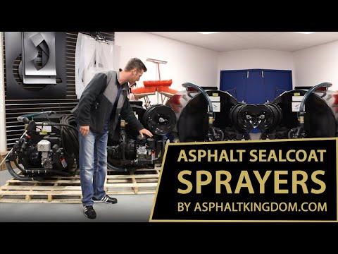 Asphalt Sealcoat Sprayers By AsphaltKingdom.com