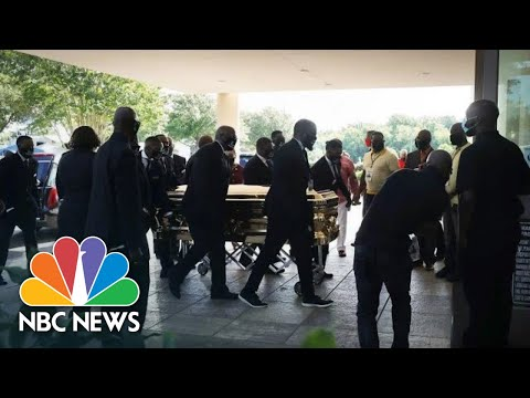 Live: Public Viewing For George Floyd In Houston | NBC News