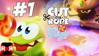 Cut the Rope: Magic - Sky Castle - iOS / Android - Gameplay Part 1