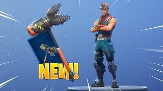 *NEW* COLE SKIN & ROCKBREAKER AXE! Fortnite Item Shop May 6th, 2019