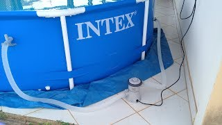 Filtro Alternativo para Piscinas da INTEX.