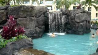 marriott ko olina beach club pool