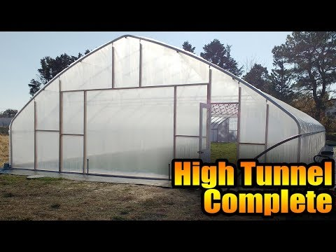 High Tunnel Complete