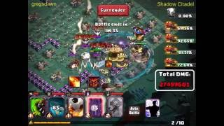 clash of lords 2 295m damage shadow citadel reapers
