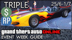 GTA Online Triple & Double Money and Discounts This Week (GTA 5 Event Week) | June 25th - July 1st