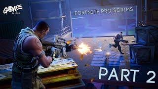 Fortnite Pro Scrims! (Part 2)