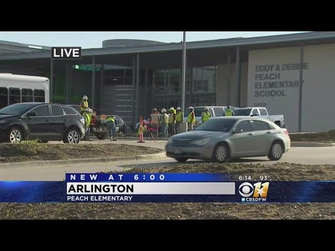 Peach Elementary School Not Finished For 1st Day, Parents Upset