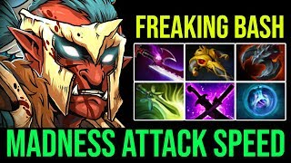 Unlimited Bash Lord [Troll Warlord] Madness Attack Speed Epic 29KIlls By Pajkatt Crazy Game | Dota 2