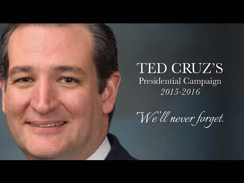 Ted Cruz: We'll Never Forget