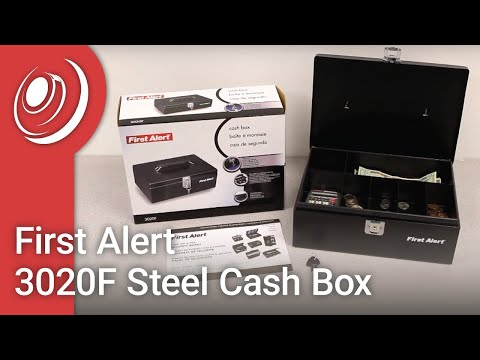 First Alert 3020F Steel Cash Box