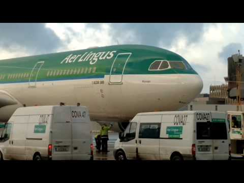 AER LINGUS I Airbus 330-302 Dublin To New York JFK
