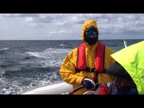 Stormy Celtic Sea Sailing