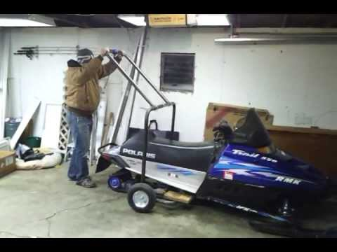 Snowmobile Dolly Youtube