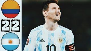 Copa America 2021 - Argentina vs Colombia 3-2 - Highlight Match