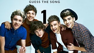 One direction. - song quiz