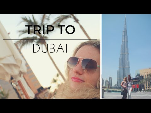 VLOG: Trip to Dubai, biggest mall in the world, beach, bars and best sun care products