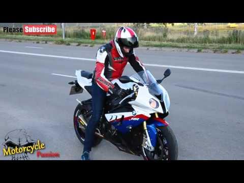 BMW S1000RR HP4 2016 - BMW Motos, 2016 BMW s1ooorr Street Fighter Bike Sounds, Akrapovic Sounds,
