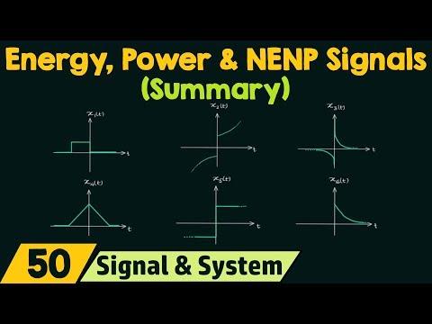 Shortcut for Energy, Power & NENP Signals