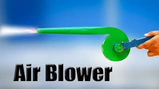 How to Make a Powerful Air Blower at home using Iron sheet || Awesome homemade tools