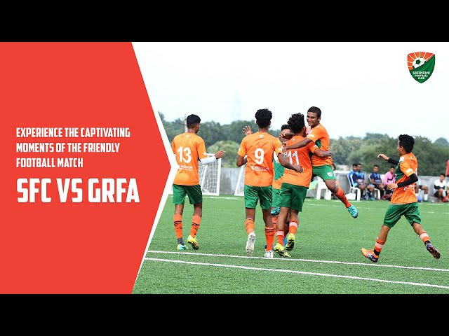 Experience the Captivating Moments of the Friendly Football Match - SFC vs GRFA