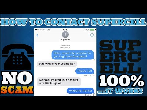 How To Contact Supercell After The MARCH UPDATE[2018]|It's 100% Working|NO SCAM