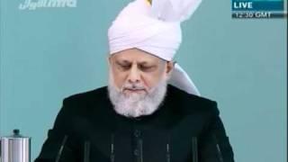 Freitagsansprache 6. Mai 2011 - Die korrekte islamische Sicht der Fürbitte - Islam Ahmadiyya