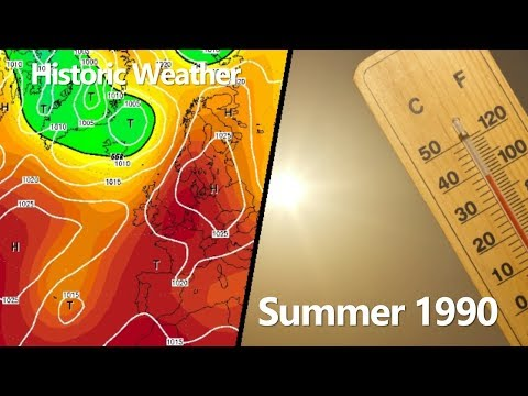 Historic Weather - Summer 1990
